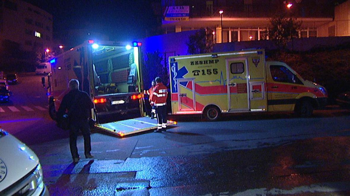 Zásah IZS po explozi v Evropské ulici v Praze