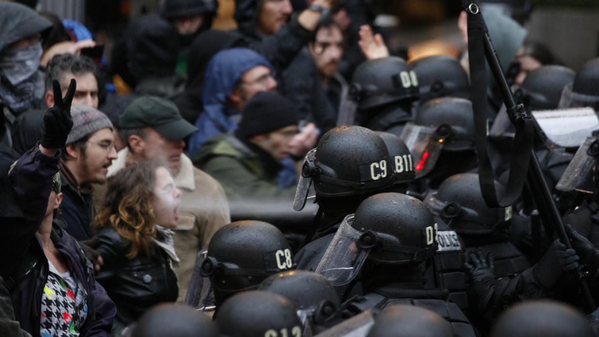 Demonstrace hnutí Okupujte Wall Street