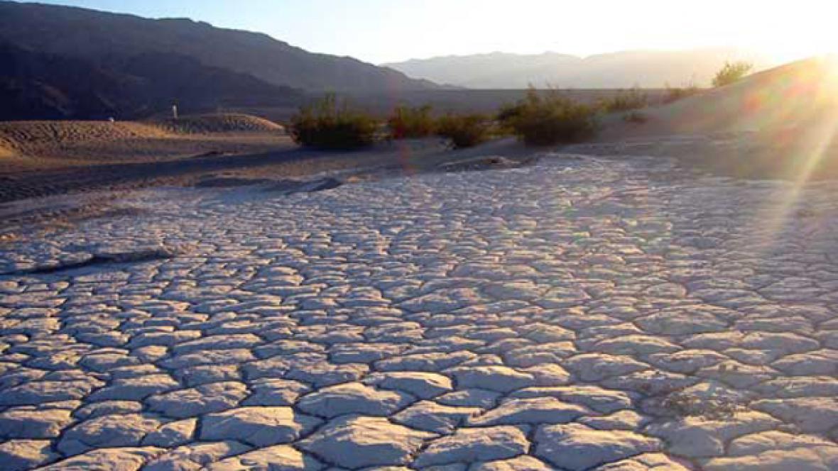 Údolí smrti - Kalifornie