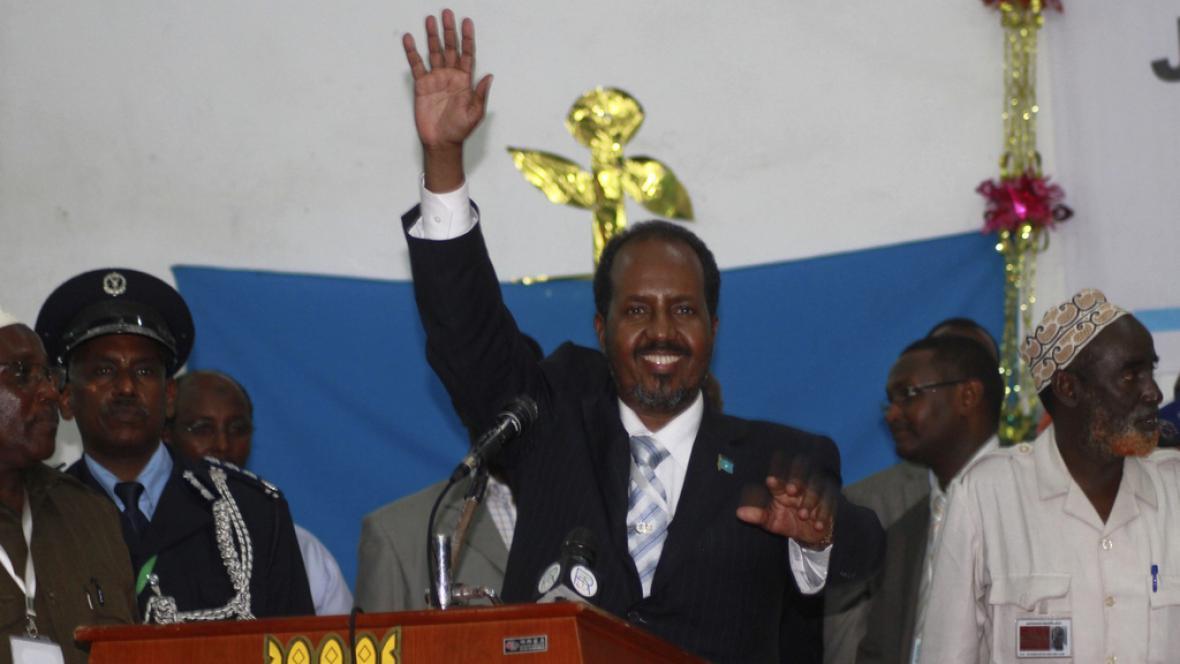 Somálský prezident Hassan Sheikh Mohamoud