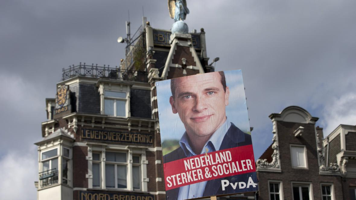 Předvolební kampaň v Nizozemsku