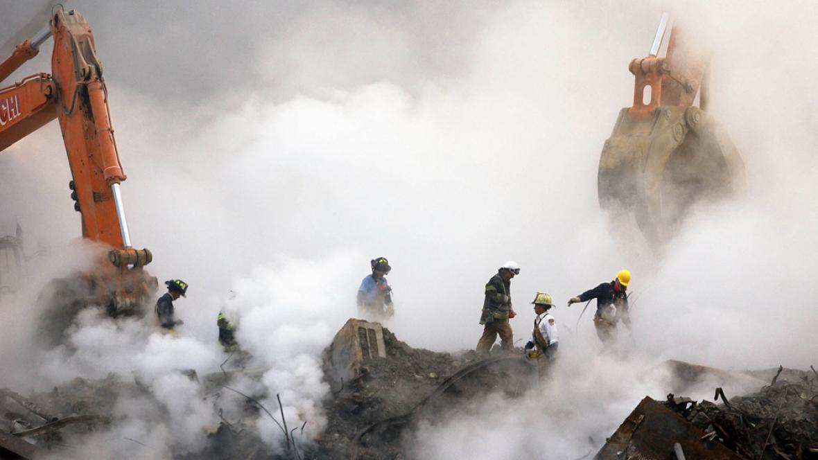Záchranné práce po 11. září