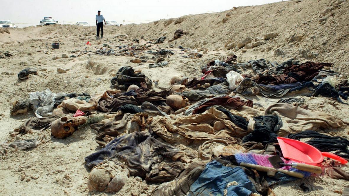 V Iráku byl nalezen masový hrob