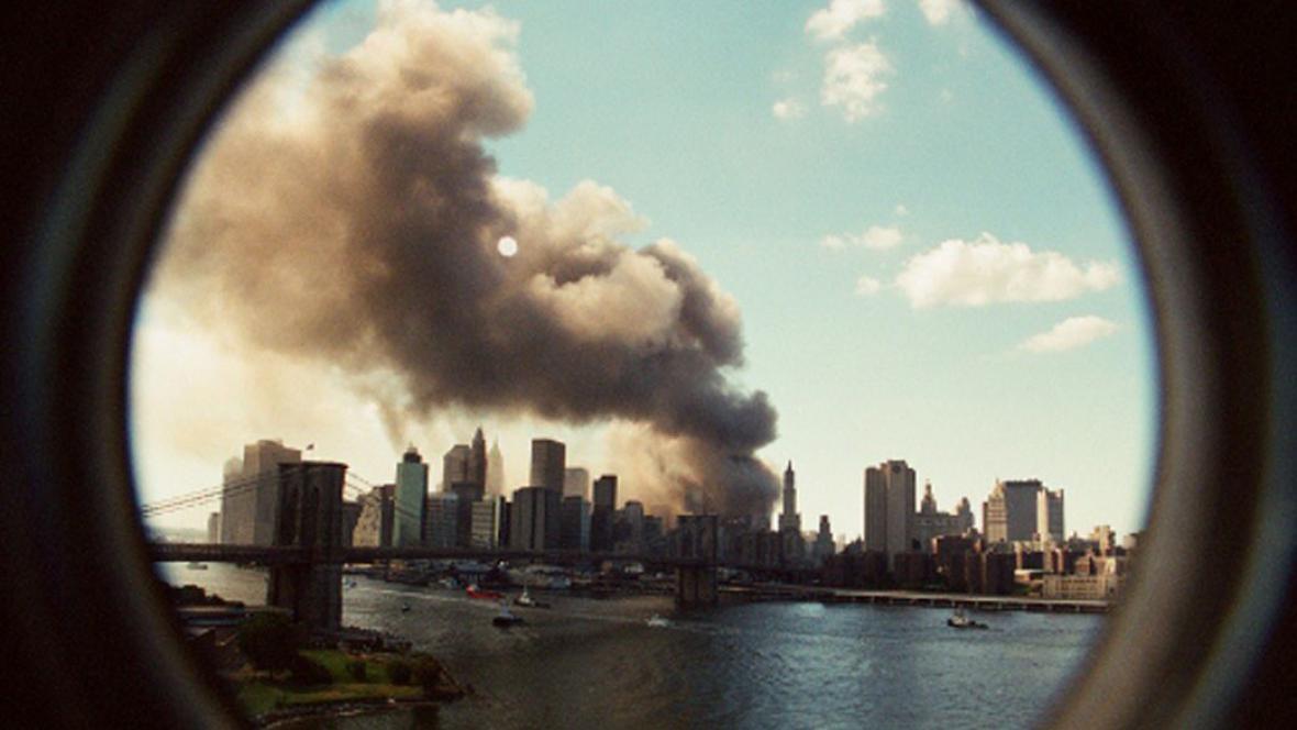 Karel Adamčík, New York, září / september 2001