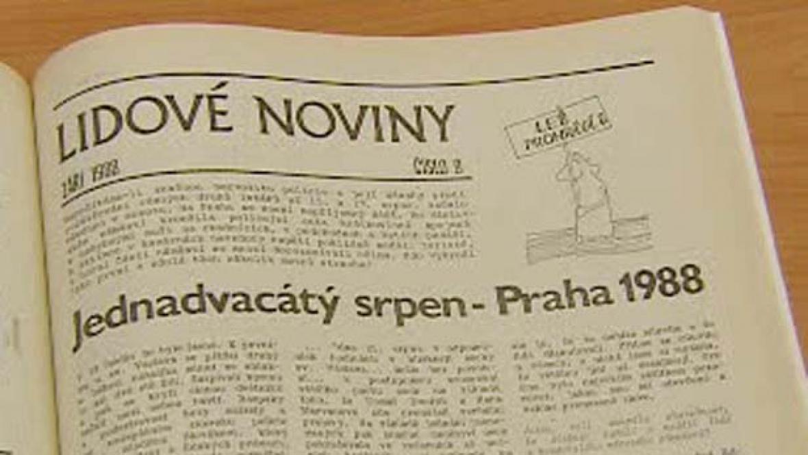Samizdatové Lidové noviny