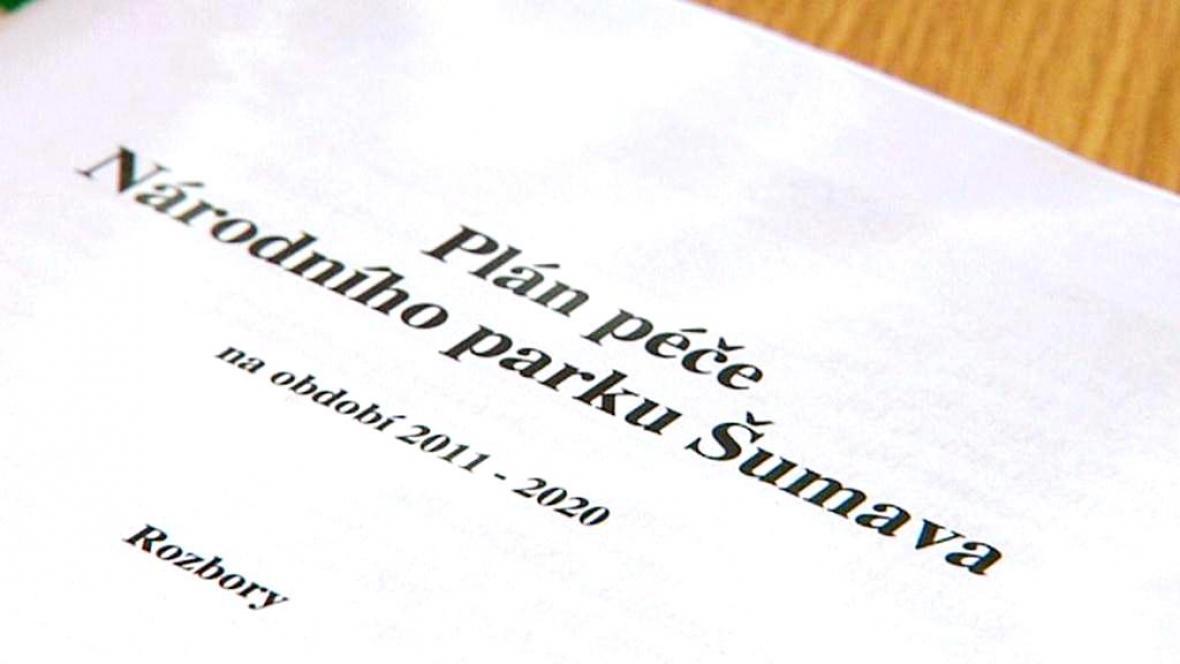 Plán péče NP Šumava