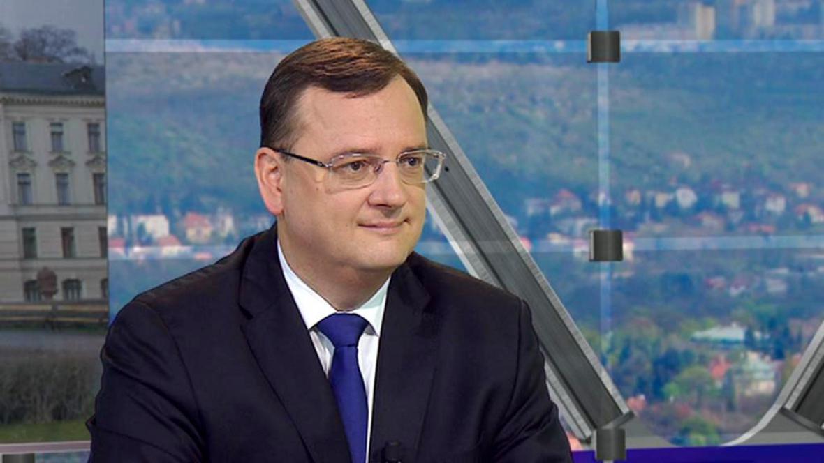 Premiér Petr Nečas hostem Otázek Václava Moravce