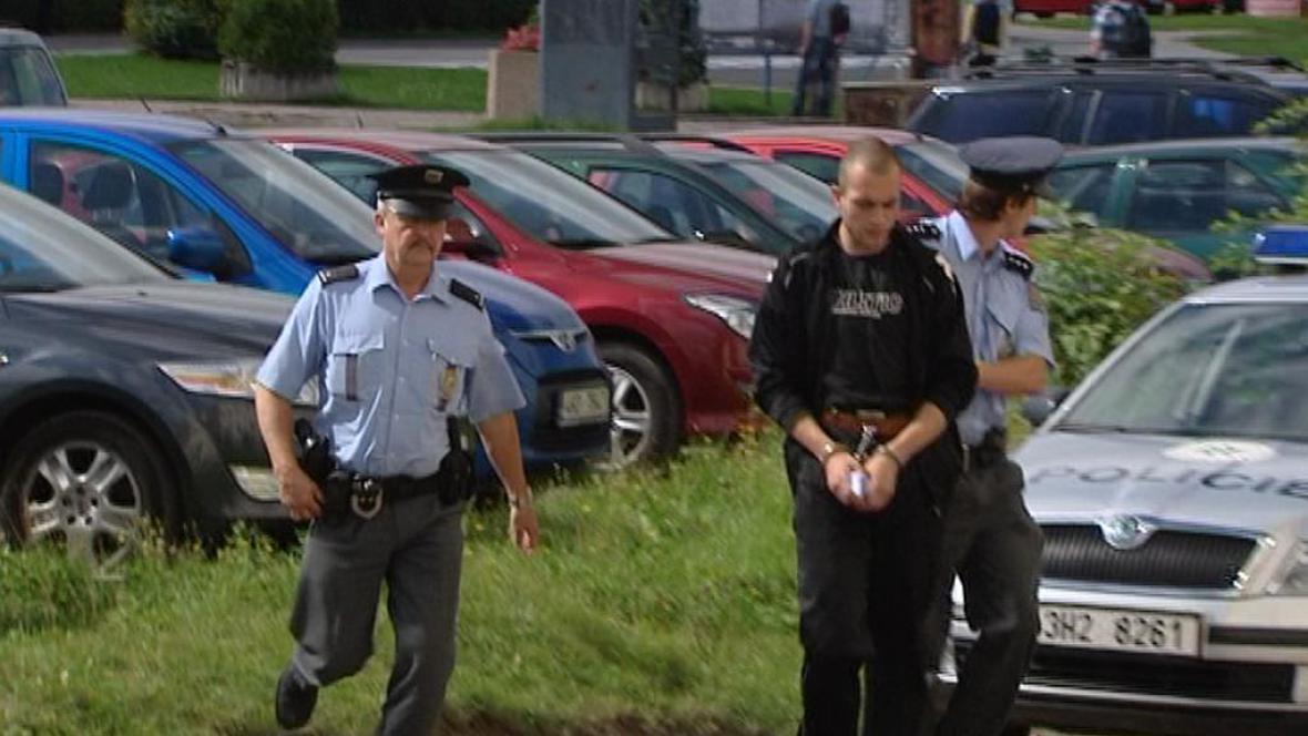 Zadržený polský lupič