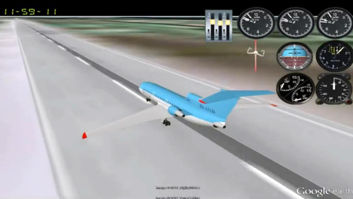 Oficiální animace katastrofy Jaku-42