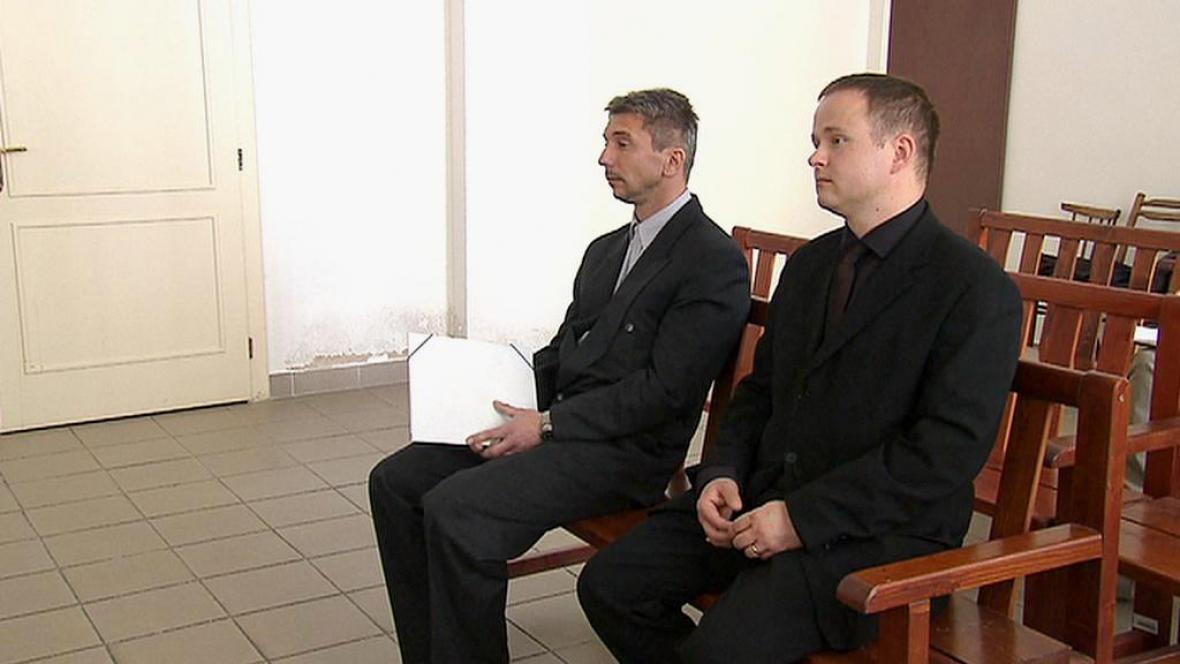 Josef Šlechta a Jiří Zeronik u soudu