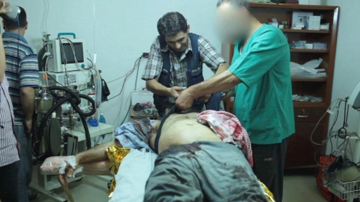 Záběry syrského amatérského kameramana