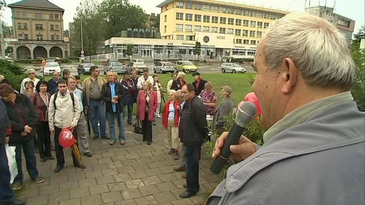 Setkání se zástupci KSČM v Olomouci