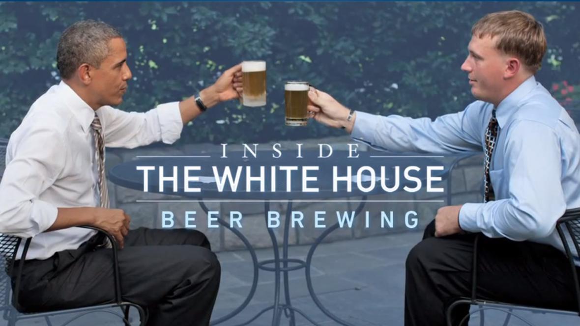 Bílý dům zveřejnil recept na své pivo