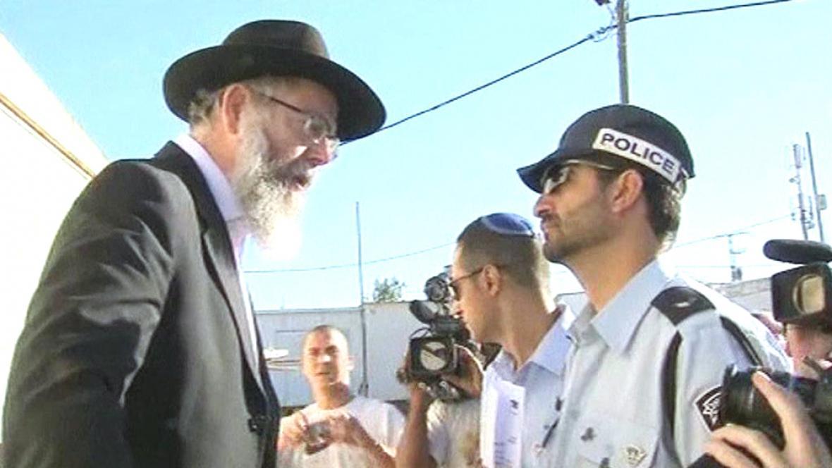 Izraelská policie vyklízí osadu Migron