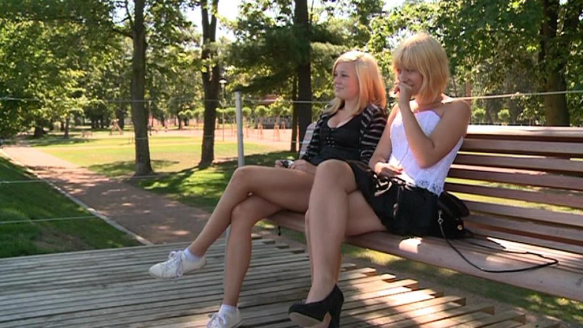 Park v Hranicích