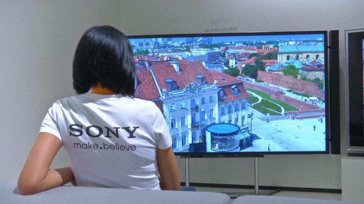 Obrazovka Sony