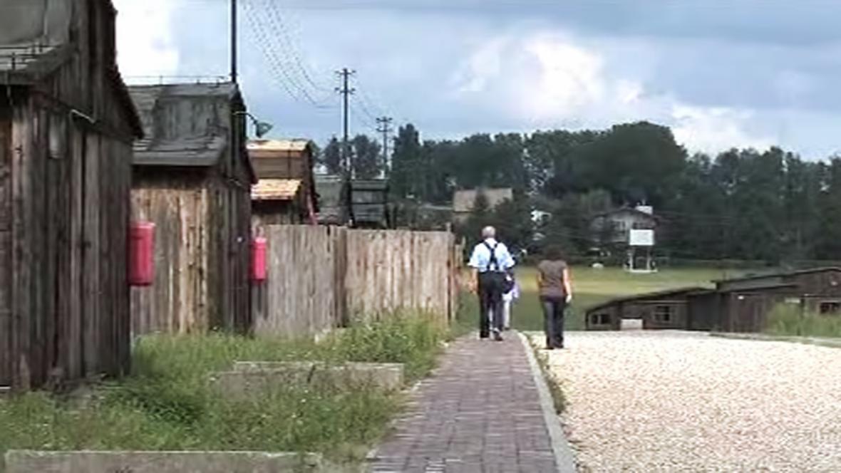 Bývalý koncentrační tábor Majdanek