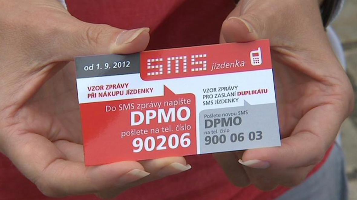 SMS jízdenka pro Olomouckou MHD