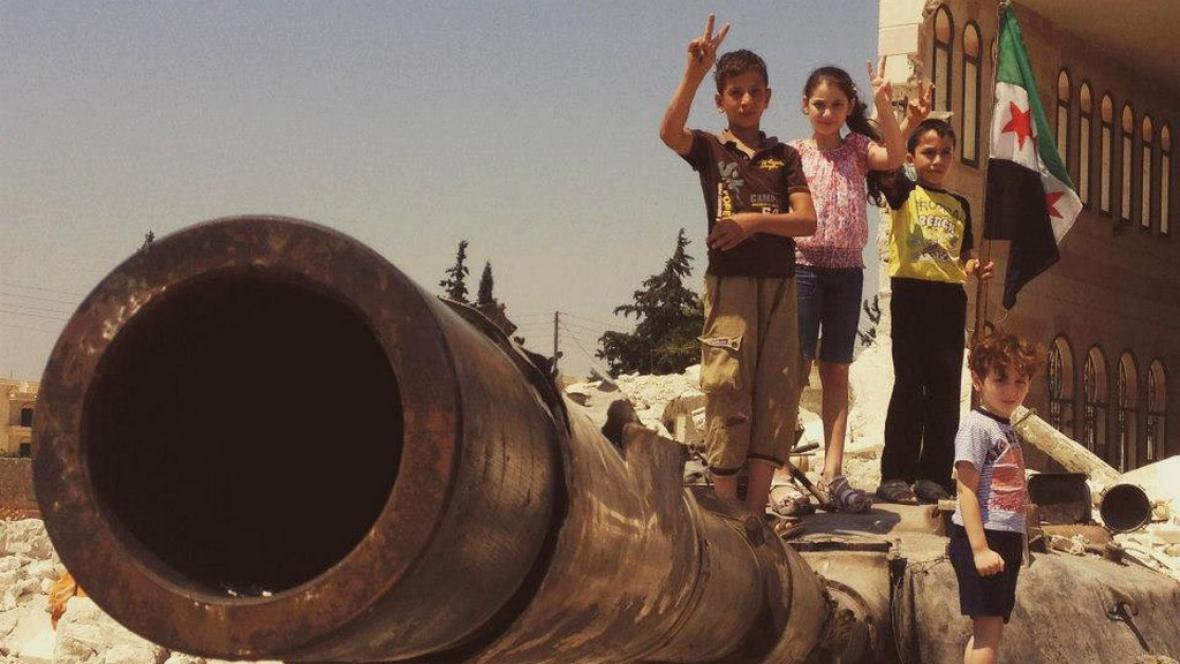 Štáb ČT natáčel v Sýrii