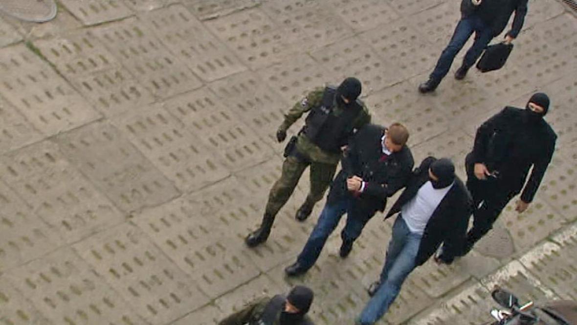 Zatčení Marcina Plichty