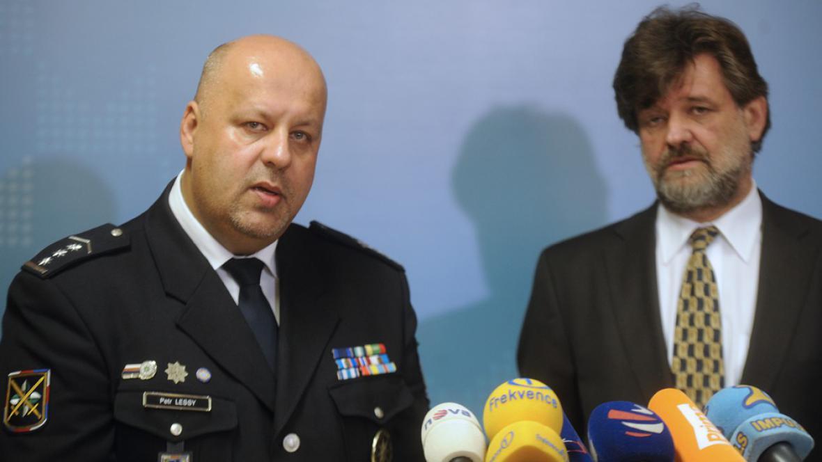Petr Lessy a Jan Kubice