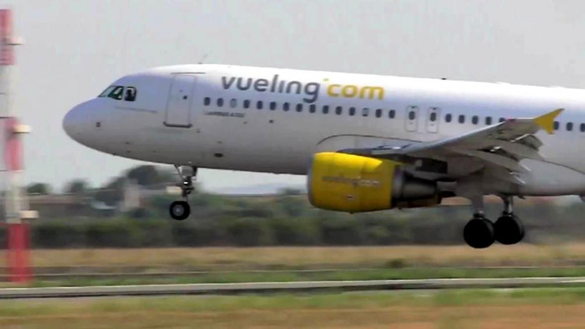 Letadlo společnosti Vueling