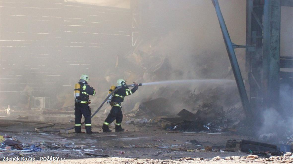 Požár v Dolnoměcholupské