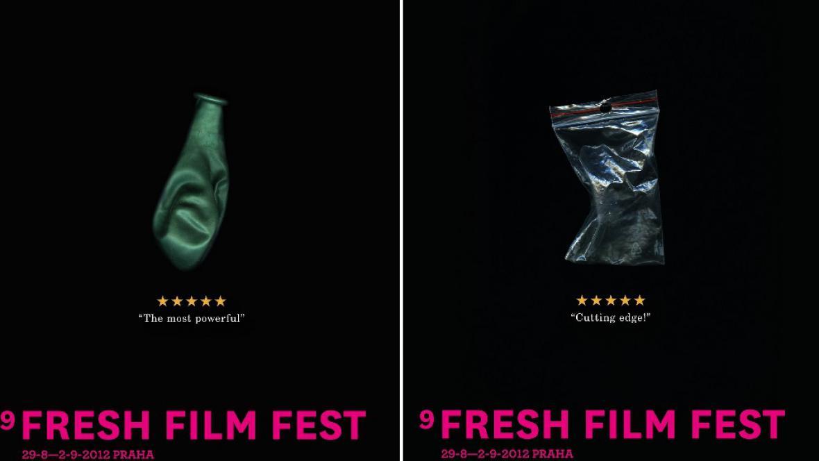 Plakáty 9. Fresh Film Festu