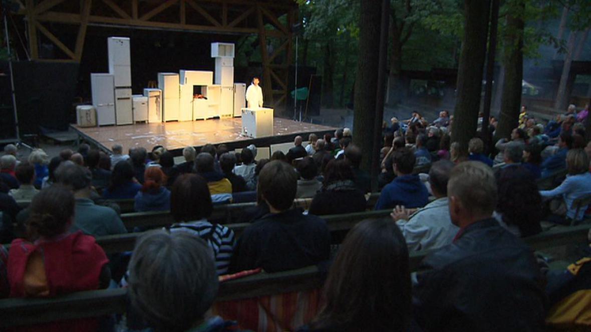 Lesní divadlo v Řevnicích