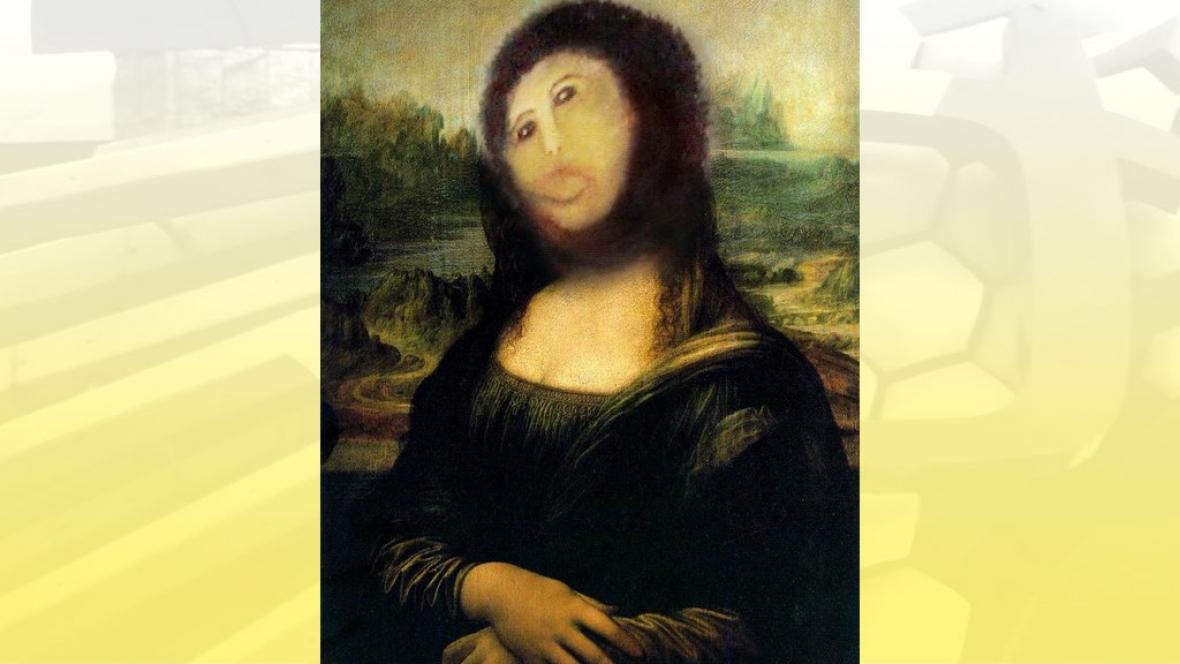 Mona Lisa ve své