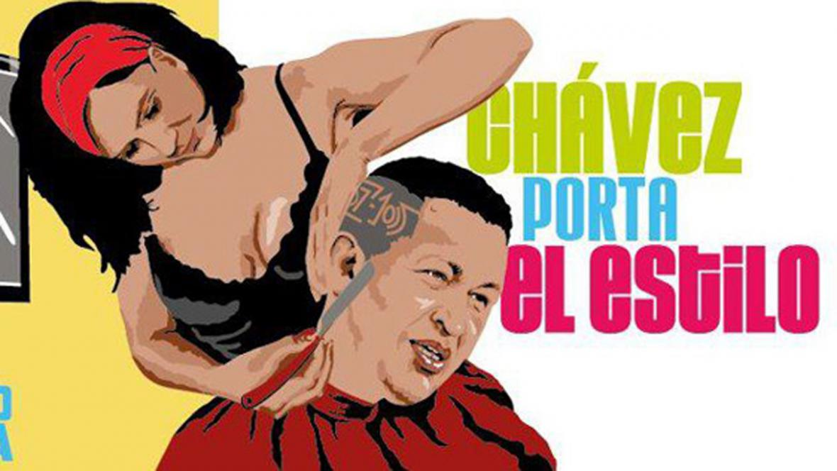 Hugo Chávez  - volební kampaň