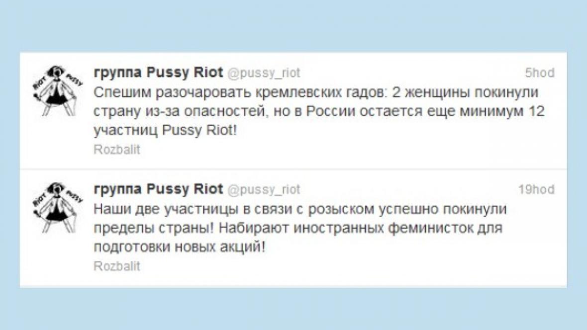 Tweet Pussy Riot