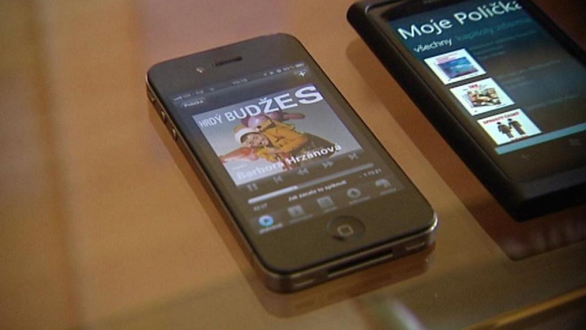 Audiokniha v chytrém telefonu