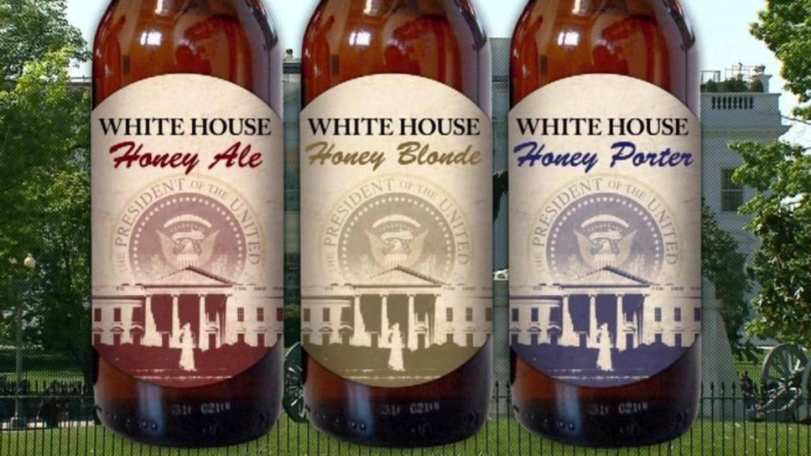Pivo pro Bílý dům