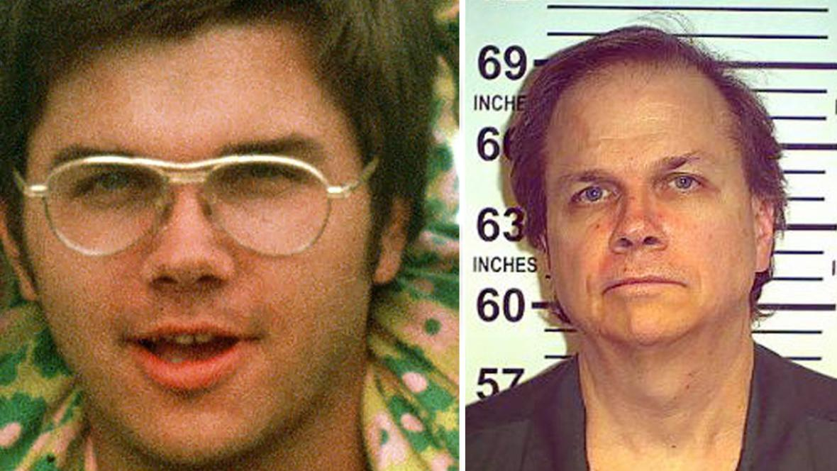 Mark David Chapman v roce 1975 a 2012