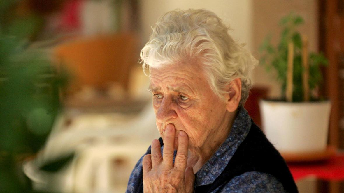Řecká důchodkyně