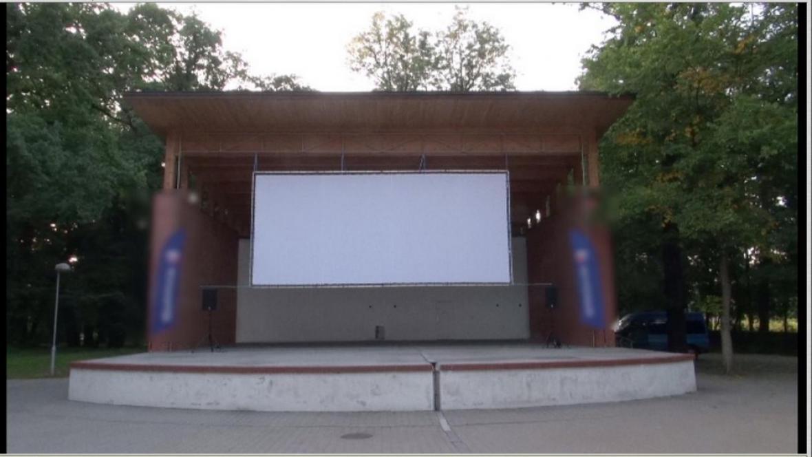 Letní kino v Kolíně