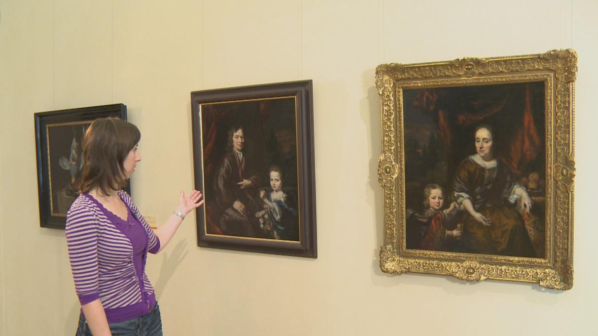 Nicolaes Maes / Dvojportrét otce s dcerou, Dvojportrét matky se synem