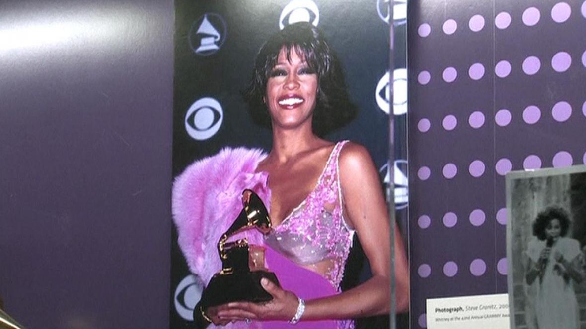 Z výstavy v Muzeu Grammy v Los Angeles