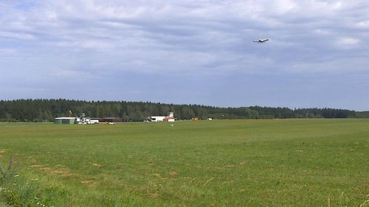 Letiště v Počátcích u Chotěboře