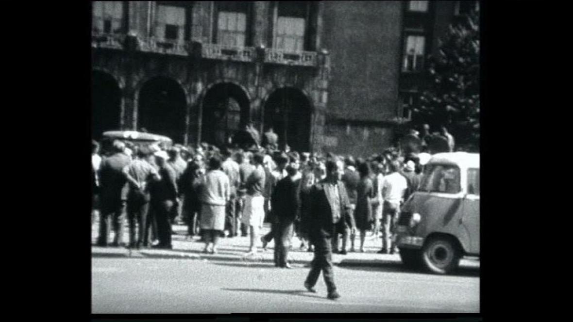 Srpen 1968 v Ostravě