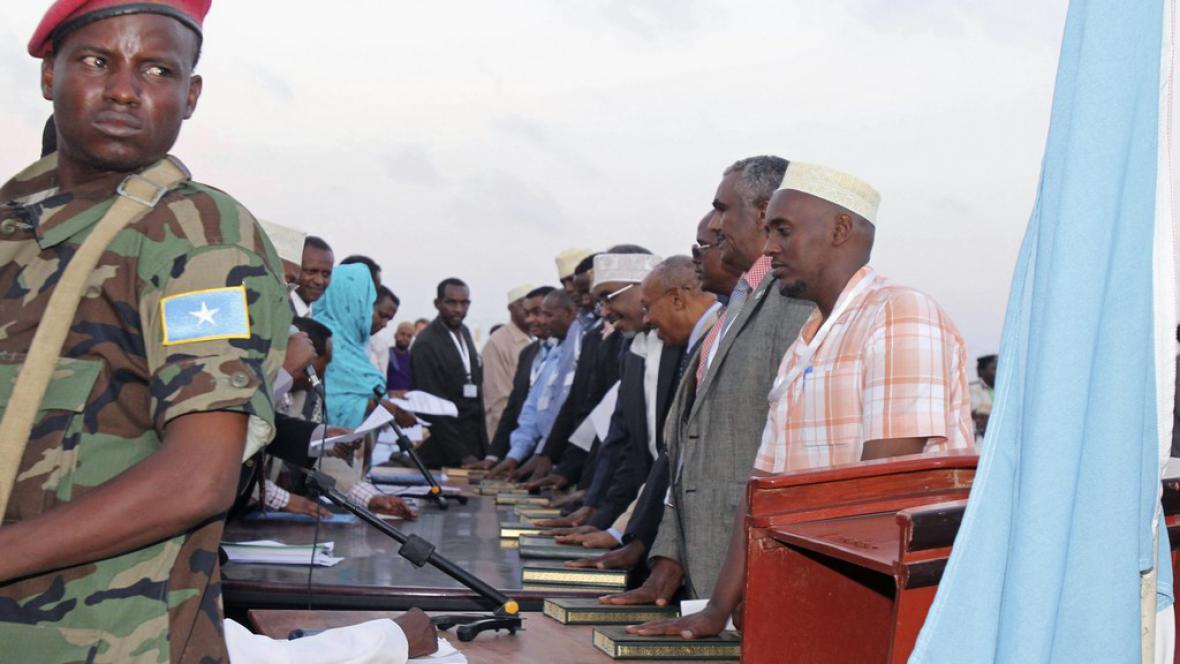 Nový somálský parlament