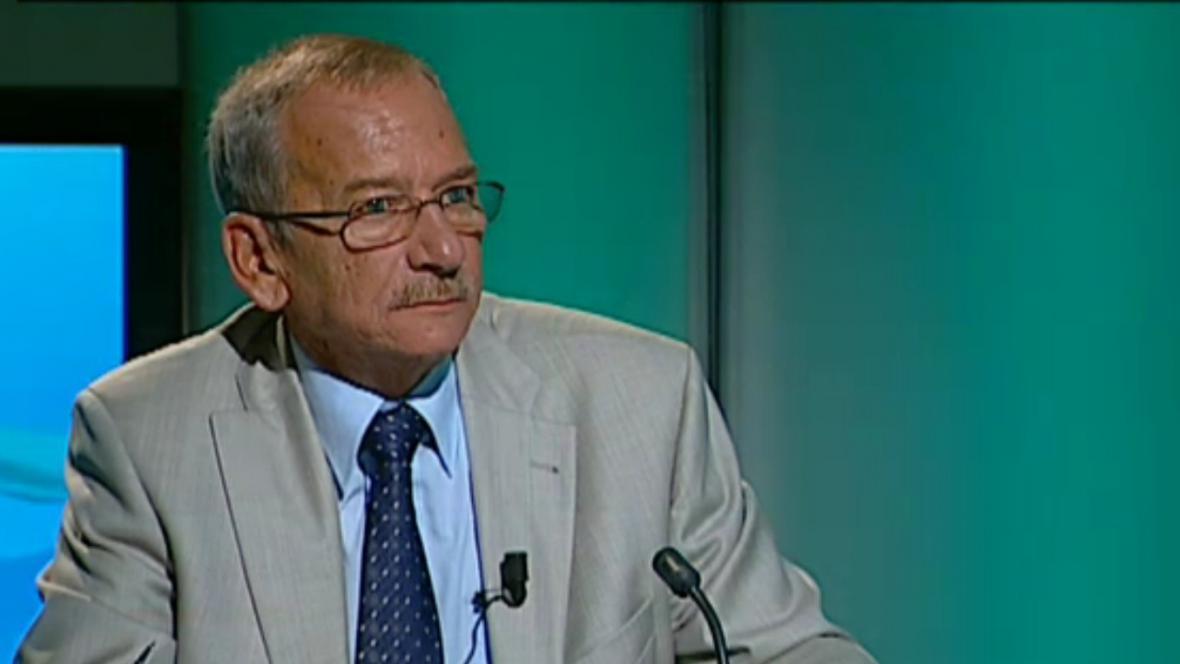 Senátor Jaroslav Kubera (ODS) v pořadu Hyde Park ČT24