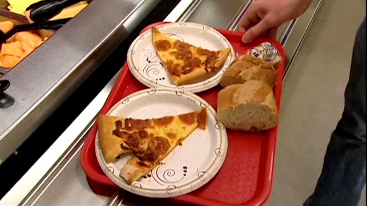 Nezdravé americké jídlo
