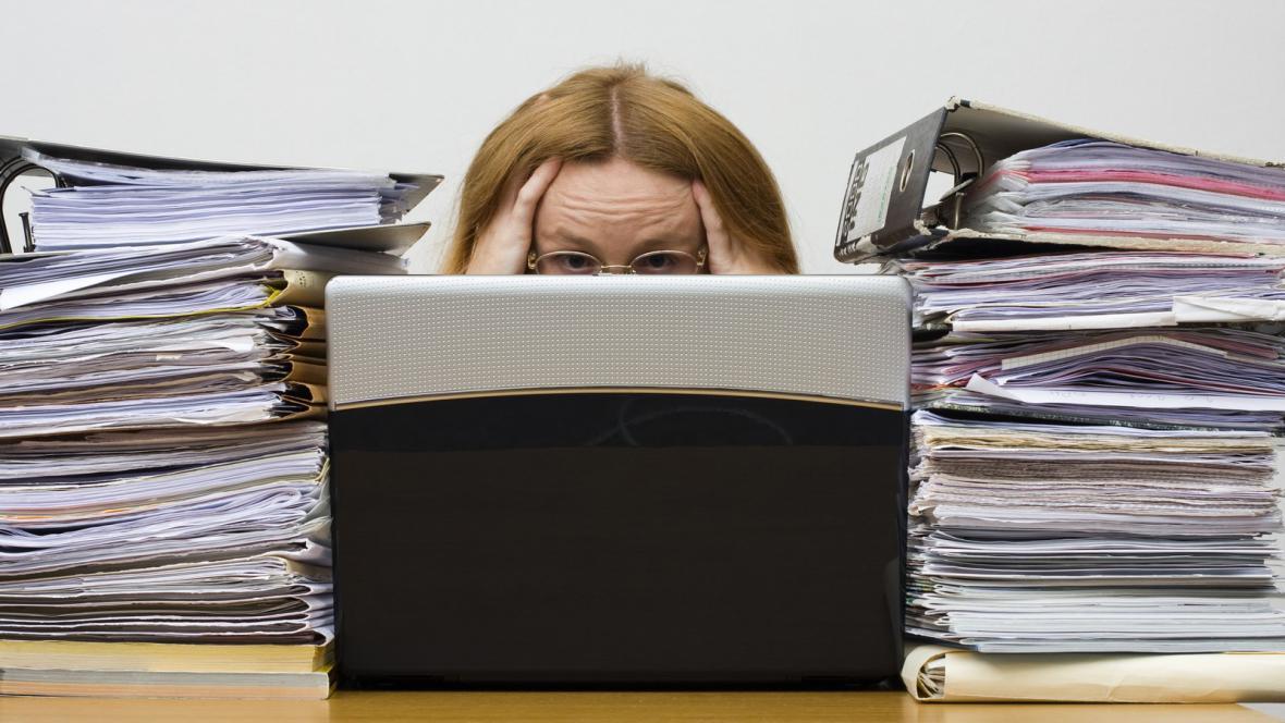 Přetížení v práci