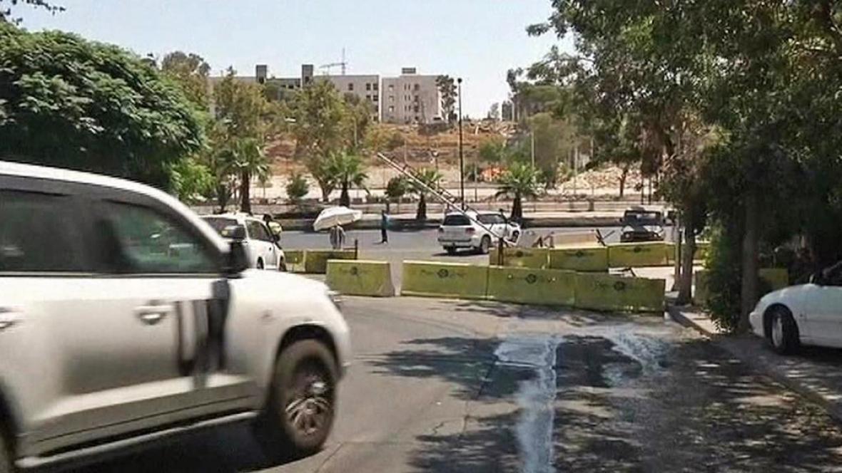 Pozorovatelé OSN v Sýrii