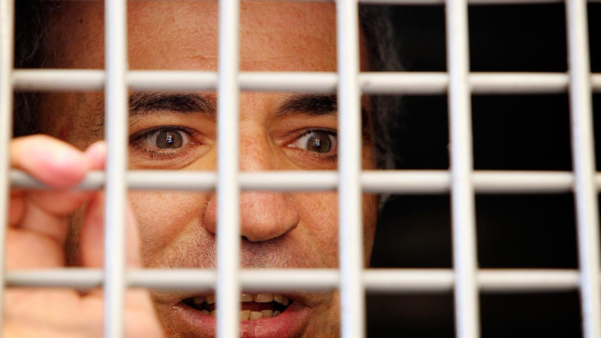 Zadržený Garry Kasparov