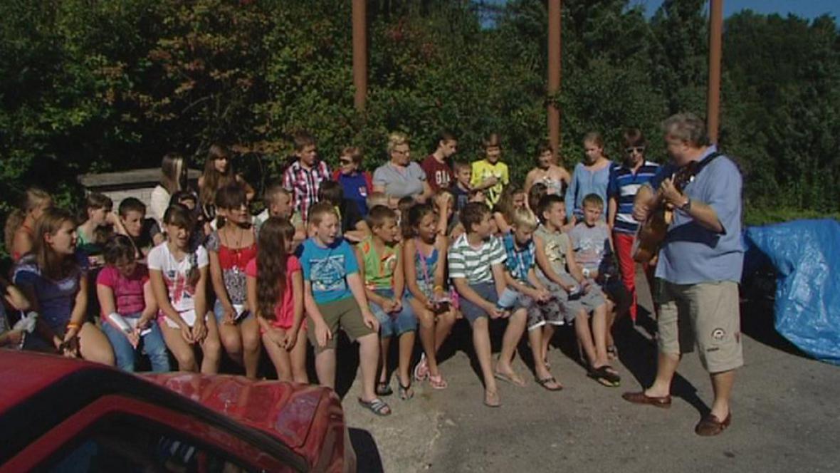 Děti z Ukrajiny