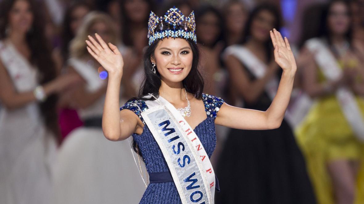 Miss World 2012 Jü Wen-sia