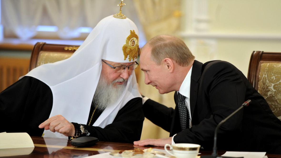 Patriarcha Kirill a Vladimir Putin